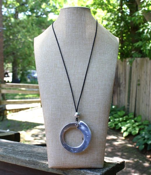 Artisan Circle Necklace