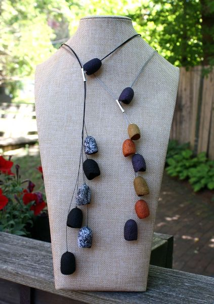 Silk Pod Necklace