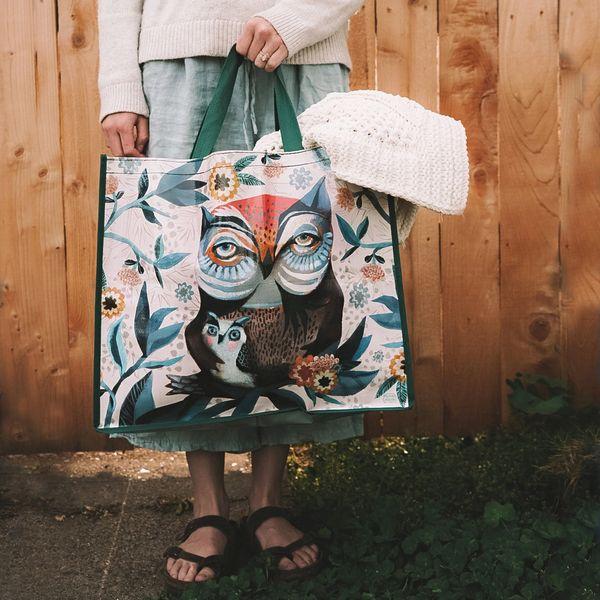 Owl and Owlet Shopper Bag