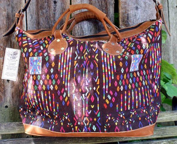 Altiplano Embroidered Overnighter
