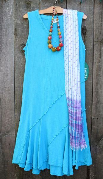OMG! Tabasco Dress - Ocean