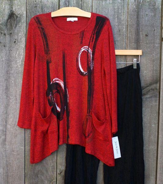 Jess & Jane Canali Knit Tunic