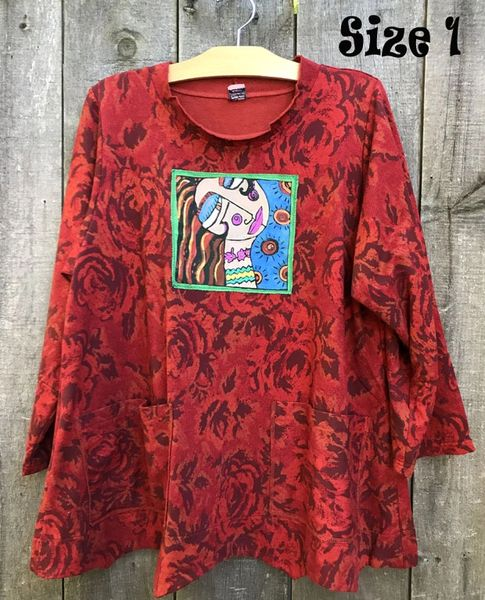 Rose Pocket Tunic
