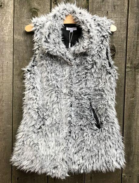 Baciano Faux Fur Vest