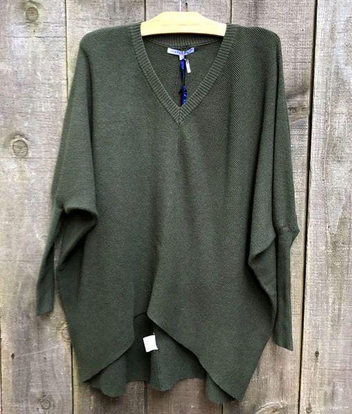 Tempo Paris Hi-Lo Sweater
