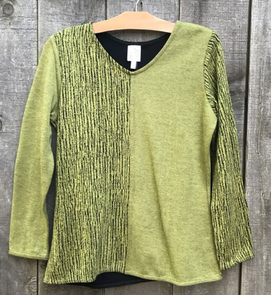 Parsley & Sage Reversible Shirley Top - Size L - LAST ONE!