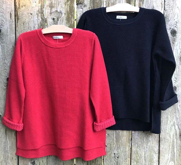 Margaret Winters Hi-Lo Pullover Sweater