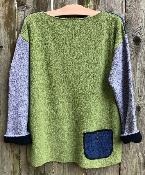 Margaret Winters Reversible Boat Neck Sweater - Size S/M - LAST ONE!!