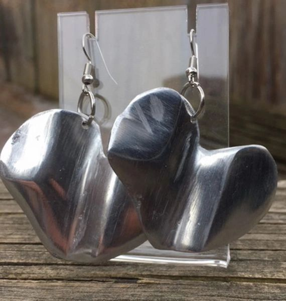 Artisan Heart Earrings