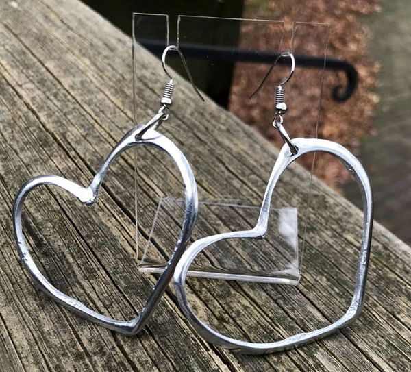 Artisan Heart Earrings