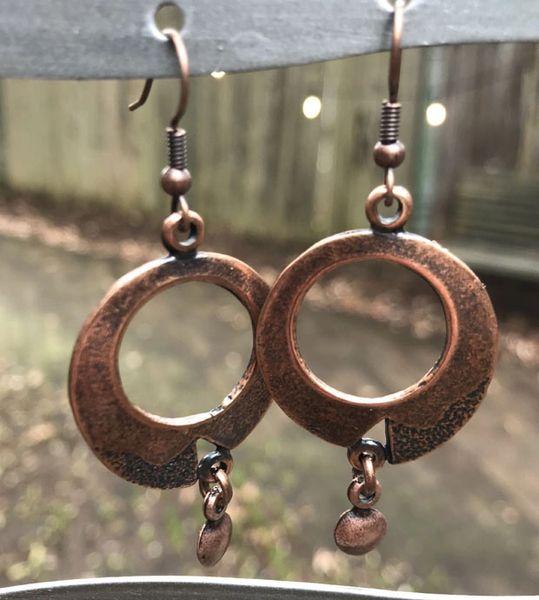 Volare Copper Earring