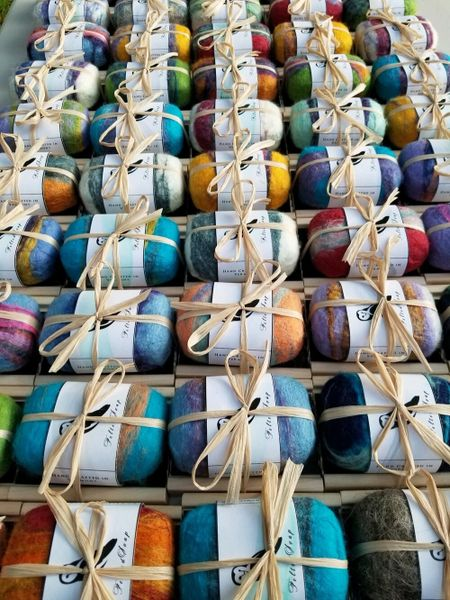 Handcrafted Felted Soap Gift Sets