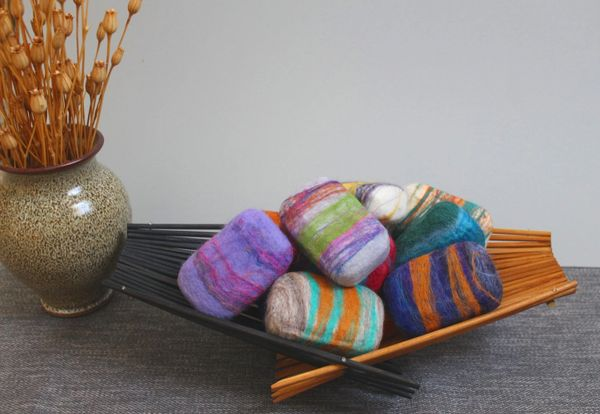 Handcrafted Felted Soap