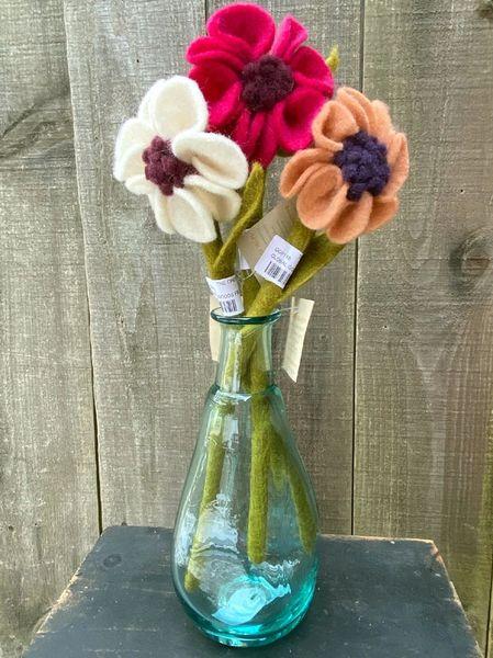 Felt Anemone Flower