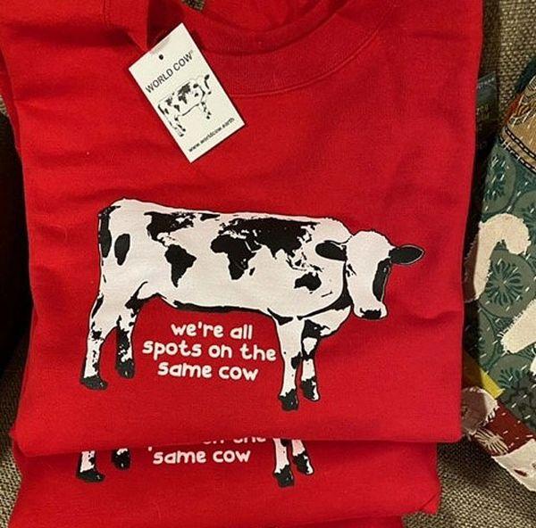 World Cow Cozy Sweatshirt