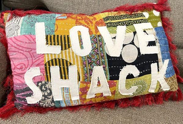 Love Shack Pillows
