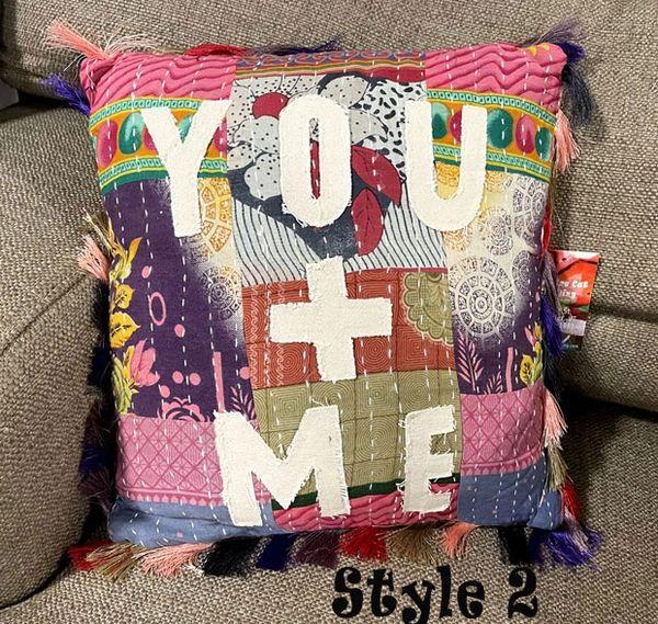 You + Me Pillows