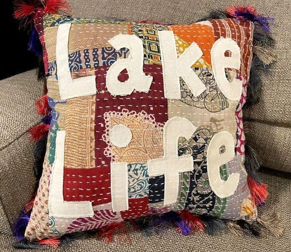 Lake Life Pillow