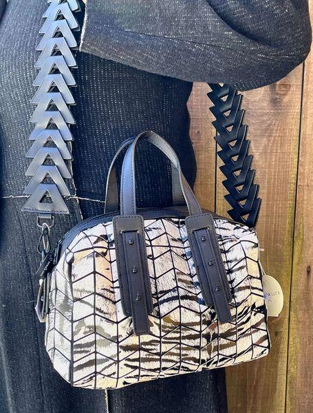Patrizia Luca Geo Bowler Bag