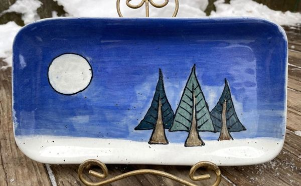 Mountain Gal Trio of Pines Small Plate