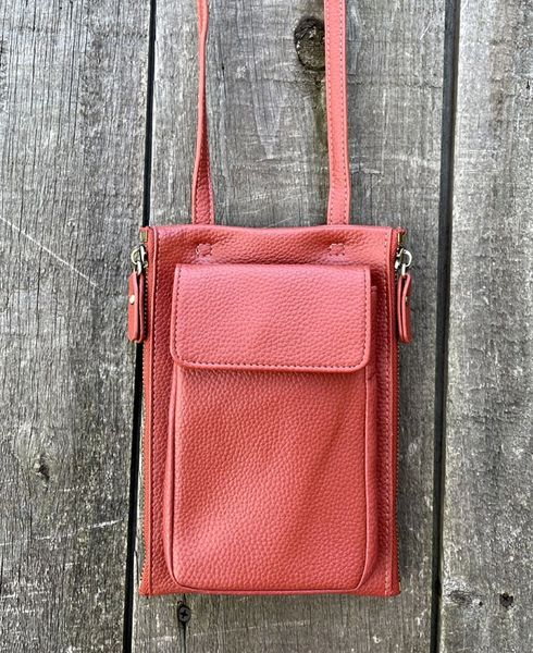 Joy Susan Multi Pocket Crossbody Bag - Spice - LAST ONE!