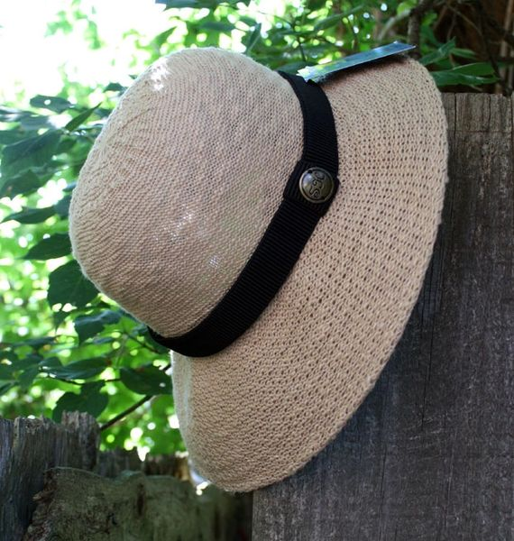 Shihreen Cotton Ribbon Hat - LAST ONE!!!