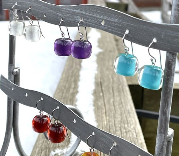 Zsiska Colorful Beads Earrings