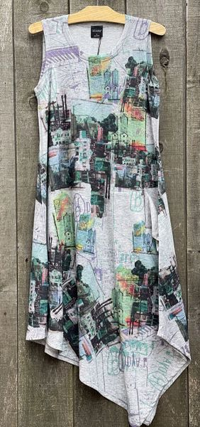 Inoah Sleeveless Midtown Dress