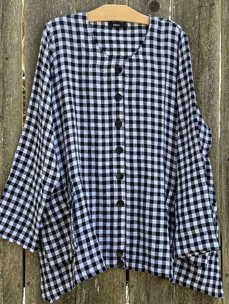 Ralston Agop Check Blouse/Jacket