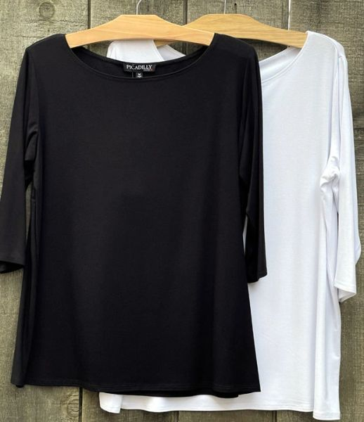 Picadilly 3/4 Sleeve Top