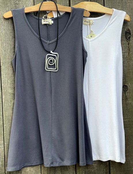 Papa Sleeveless Tunic