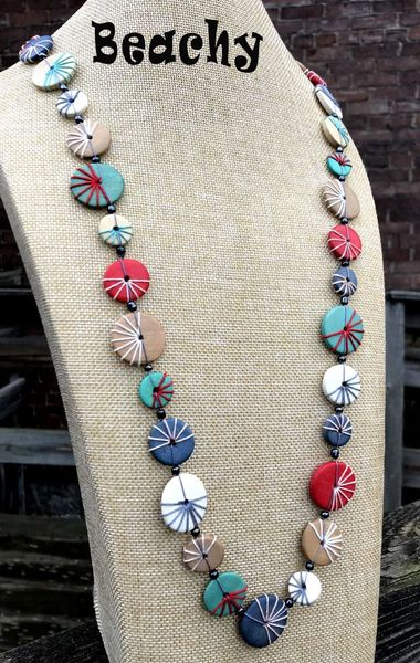 Caracol String Necklaces (more colors)