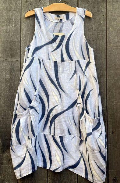 Lands Downunder Swirls of Sienna Tunic/Dress - Size S - LAST ONE!