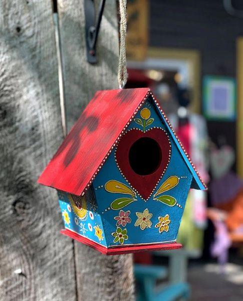 Suhani Painted Birdhouse