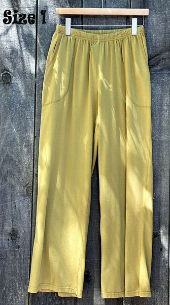 Gold Jersey Pant