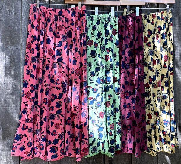 Summer Flowers Skirt