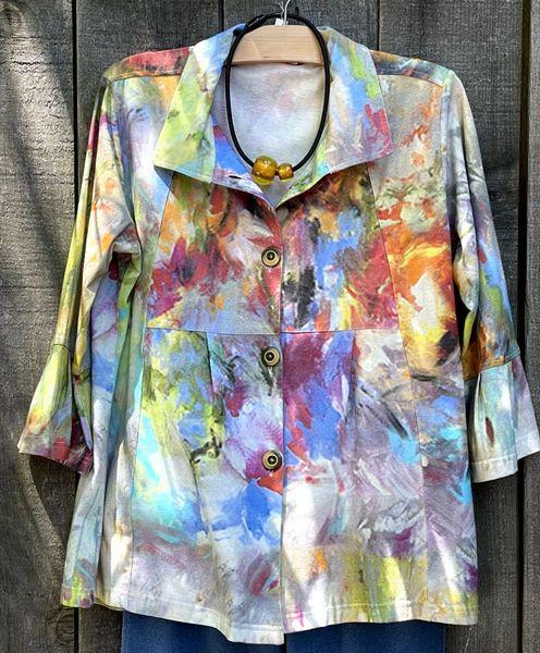 Parsley & Sage Iris Flare Shirt