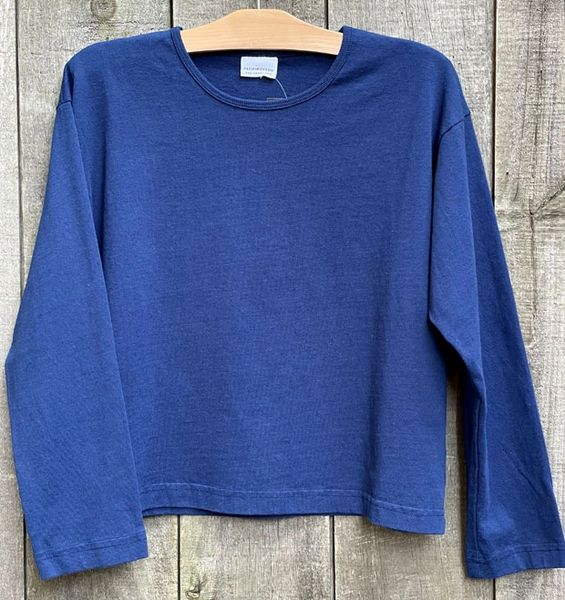 Pacific Cotton Crew Top by Bryn Walker