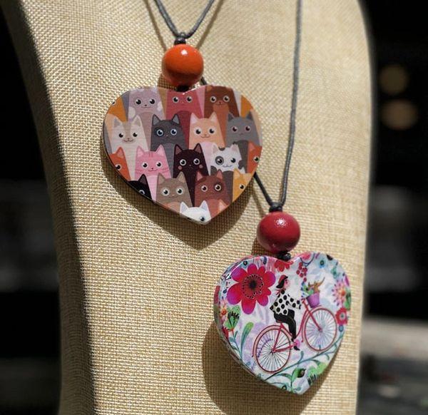 Sylca Heart Necklaces