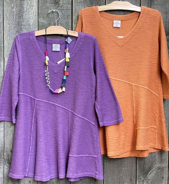 Color Me Cotton Cover Stitch Tunic