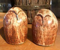 Mountain Gal Zen Owls Salt-n-Pepper Shakers
