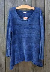 B&K Moda Striped A-Line Sweater -- LAST ONE!