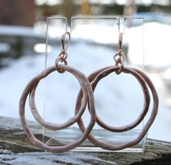 Double Hoop Earrings by Island Imports