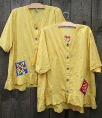 Spring Daisy Picnic Blouses