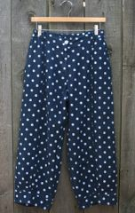 Luca Vanucci Blue Dots Crop Pant