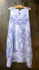 Luca Vanucci Blue Wave Tank Dress
