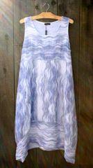Luca Vanucci Blue Wave Tank Dress