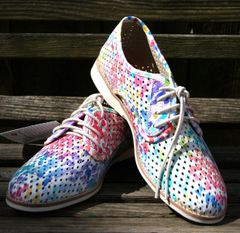 Rollie Watercolor Derby Shoe