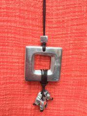 Squares Artisan Necklace
