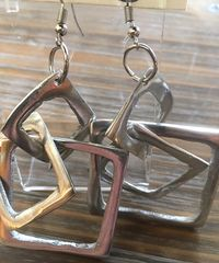 Squares Artisan Earrings